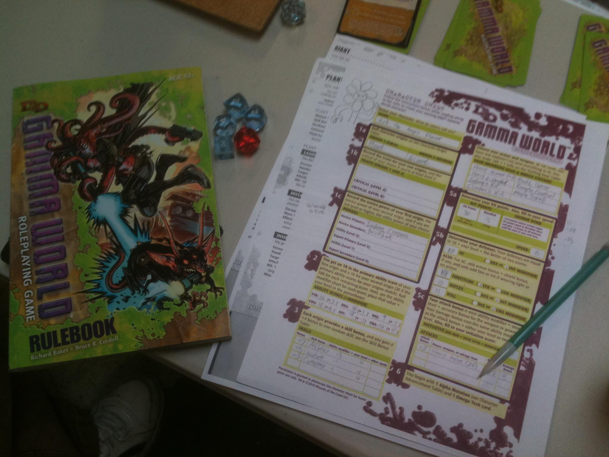 Gamma World Game Day | Yaruki Zero Games