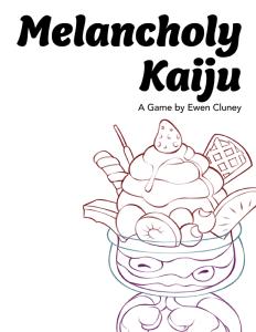 Melancholy Kaiju Cover-DTRPG